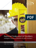 National Federation of Builders Insurance Brochure