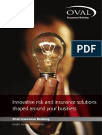 Oval Business Insurance Brochure