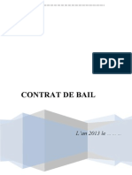 Contrat de Bail- Word