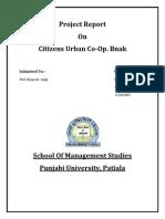 Citizen Urban Co-op. Bank