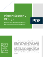 Plenary Session V – Blok 4.1