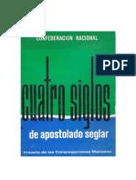 Villaret. Cuatro Siglos de Apostolado Seglar. Congregaciones Marianas