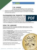 PAL Winners Information Package