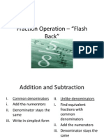 fraction operation
