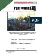 INFORME Nº 01 - PACALI - SUPERVISOR