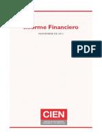 CIEN - Informe Financiero
