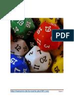 Probabilidad de Ganar La Loteria