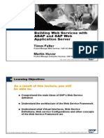 Building Web Services With Abap and Sap Web Application Server