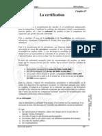 Cha 4 La Certification v2009