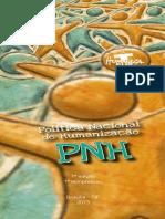 PNH - Política Nacional e Humanização - Folheto