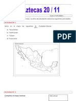 guía los aztecas 20 11
