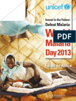 Malaria Brochure 2012 UNICEF