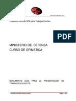 Curso de Ofimatica 2013