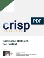 Salesforce stellt sich der Realität