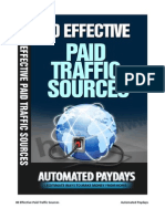 80 Effective Paid Traffic Sources