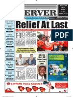 Liberian Daily Observer 11/18/2013