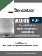 Gyan Sutra Mathematics Formula Booklet