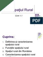 1.7. Spatiul Rural