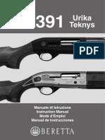 Beretta Al391 Urika_teknis