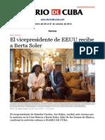 Boletín de DIARIO DE CUBA | Del 25 al 31 de octubre de 2013.