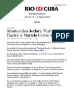 Boletín de DIARIO DE CUBA  Del 7 al 13 de agosto de 2013