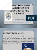 SUEÑO Y DESCANZO Y TRANSTORNOS DEL SUEÑO EN EL PRE ESCOLAR