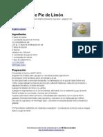 Cupcakes de Pie de Limón