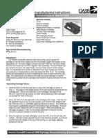 Remanufactoring tonet HP LJ 4000