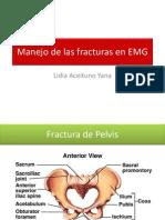 Manejo Inicial de Las Fracturas en EMG