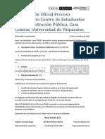 Información Oficial Proceso Eleccionario CEEAPU