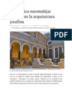 ARQUITECTURA Neomudejar Cr Andres F