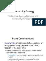 Community Ecology Virginia Forest