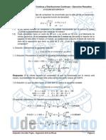 4.1 Variable Aleatoria Continua y Distribuciones Continuas - Ejercicios Resueltos