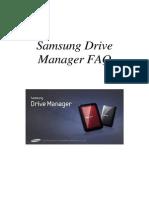KOR_Samsung Drive Manager FAQ Ver 2.5