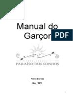Manual do Garçom Hotel Fazenda Paraíso dos sonhos