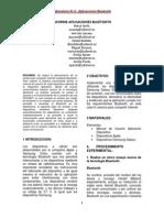 Informe Aplicaciones Bluetooth