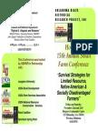 OBHRPI 15th Annual Small Farm Conference
