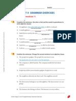 Unit 9 Grammar Exercises (3)