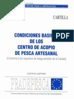 Condiciones Basicas de los Centros de Acopio de Pesca Artesanal (conforme a los requisitos de Aseguramiento de la Calidad)..pdf