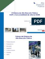 PPt Sistema de Alta Direccion Publica