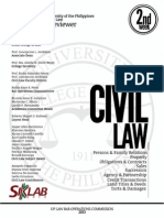 UP Bar Reviewer 2013 - Civil Law
