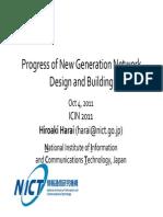 ICIN 2011 Keynote Harai