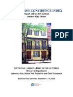 Realtors Confidence Index Report October 2013