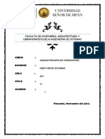 Administracion de Proyectos ADO