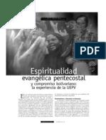 Espiritualidad Evangelica Pentecostal