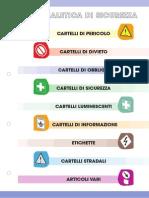 Catalogo Cartellonistica Segnaletica Stradale Unitalia Milano