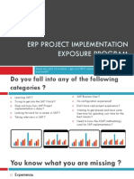 I 101ERP Project Implementation Brochures 2012 Individuals 08-26-2012