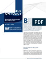 Behavioral Economics and Biased Regulators