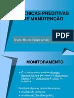 TÉCNICAS PREDITIVAS DE MANUTENÇÃO