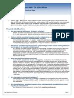 Iowa Department of Education FAQ - Hour vs Days Guide
